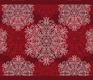 winter placemat fabric by cvoorhee on Spoonflower - custom fabric