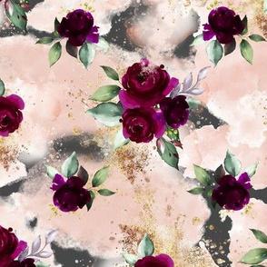 Bordo Floral Grey