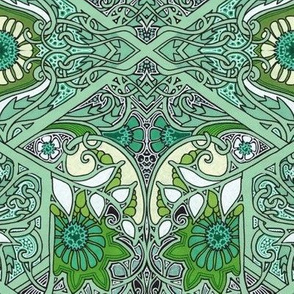 Twisted Green Thicket