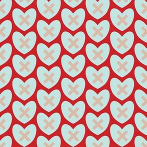 Hearts and Kisses - XMH038-6