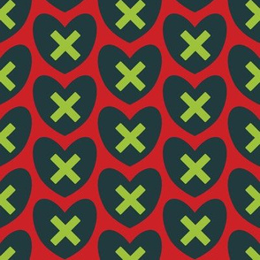 Hearts and Kisses - XMH037-4