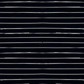 Bone Stripes on Blackest Black