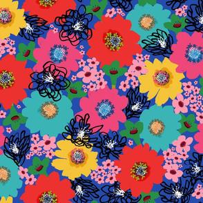 Flower Power – Blue