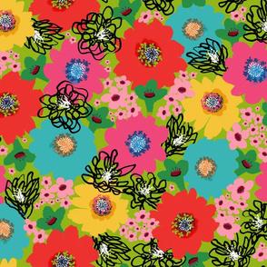 Flower Power – Bright Green