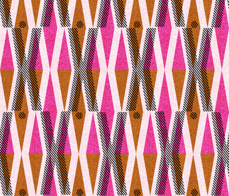 X and O-African wax love fabric by ottomanbrim on Spoonflower - custom fabric