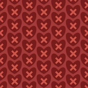 Hearts and Kisses - XMH056-3