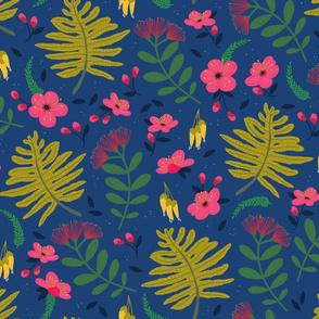 New Zealand Plants – Blue