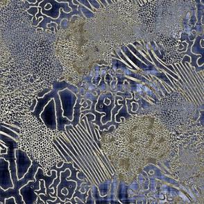 animalia blue champagne shibori