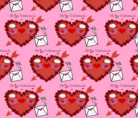 BE MY VALENTINE 19 fabric by melt_bluebell&rose on Spoonflower - custom fabric