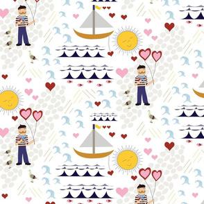 sailor boy in love