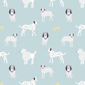 dog print mint