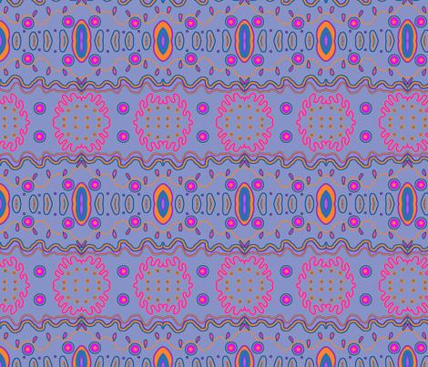 purple love fabric by unique_avani on Spoonflower - custom fabric