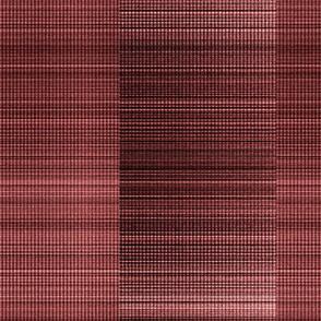 warp weft--salmon_cranberry