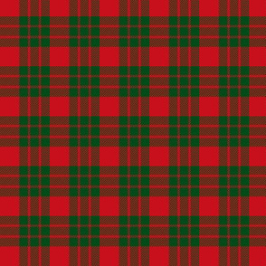 "MacGregor of Glenstrae 1826 tartan, 1.5"""