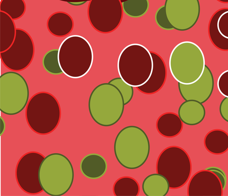 Apple bites fabric by simply_dezigned on Spoonflower - custom fabric