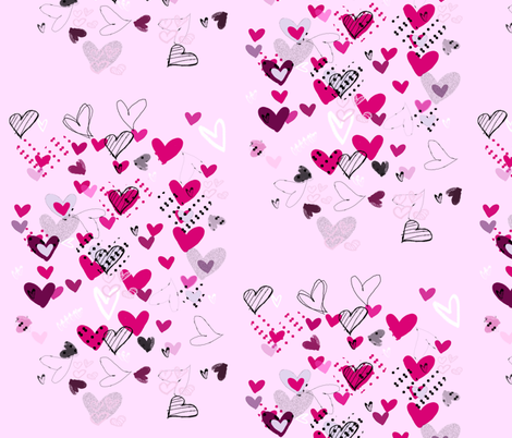 valentine  fabric by jessica_barber on Spoonflower - custom fabric