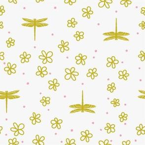 Dragonflies & Flowers