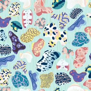 Sea Slug Skin - Nudibranch Parade