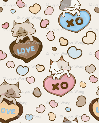 Be my Valentine Kitty
