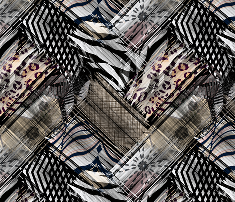 African, ethnic fabric by art_in_you on Spoonflower - custom fabric