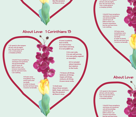 Without Love i am ... fabric by twilfley on Spoonflower - custom fabric