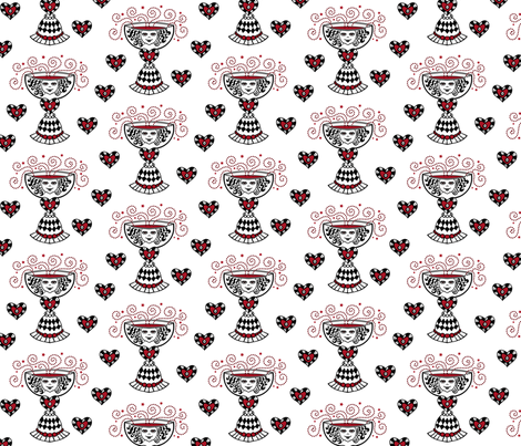 Love Potion fabric by madinpursuit on Spoonflower - custom fabric
