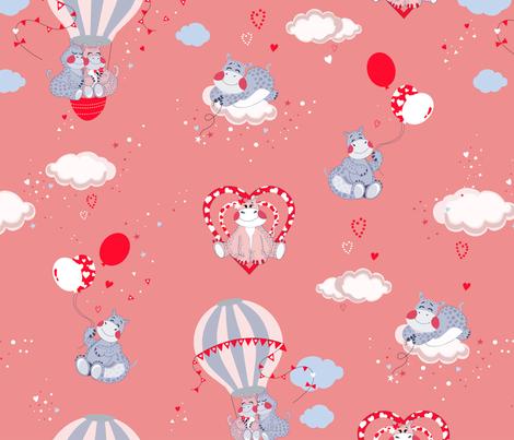 rozowy raport spoonlower fabric by daria_krawczyk on Spoonflower - custom fabric
