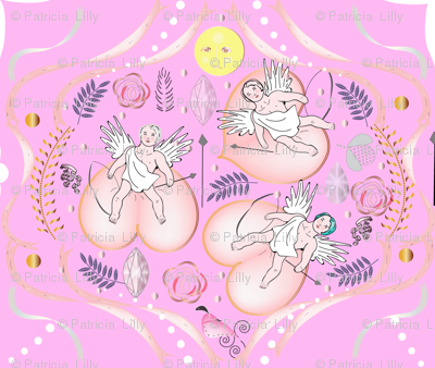 Cherubs in Pink