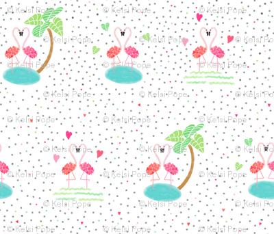 valentine flamingle
