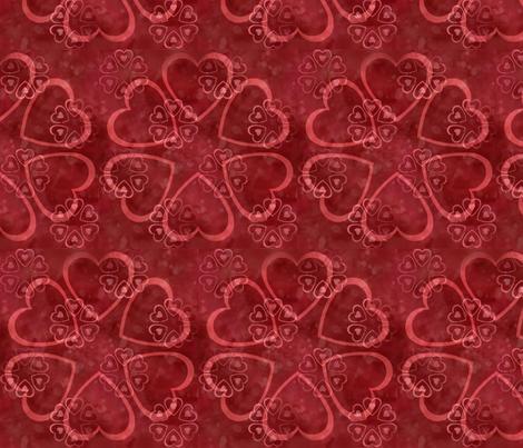 RedSweethearts fabric by notbrownplaid on Spoonflower - custom fabric