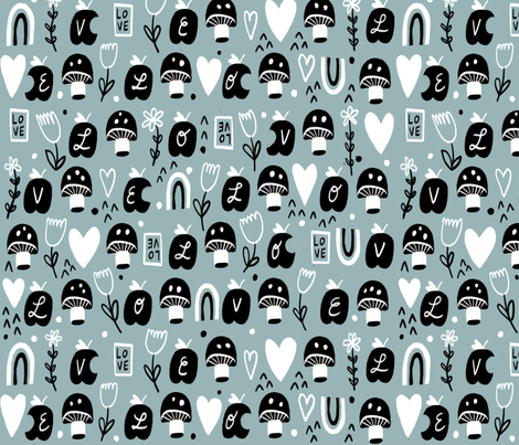Love fabric by anda on Spoonflower - custom fabric