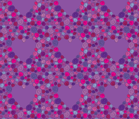 Doodle Bouquet fabric by ameemax on Spoonflower - custom fabric
