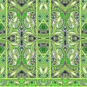 Paisley Leaf Gavotte