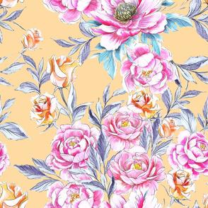Roses 'n Peonies Butter