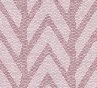 Organic Chevron - Safari Wholecloth Mauve coordinate
