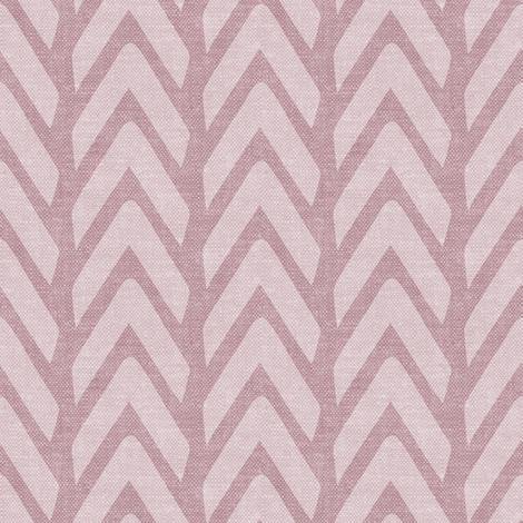 Organic Chevron - Safari Wholecloth Mauve coordinate fabric by littlearrowdesign on Spoonflower - custom fabric