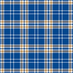 Kansas City Royals Team Colors Plaid