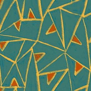 chalk triangles