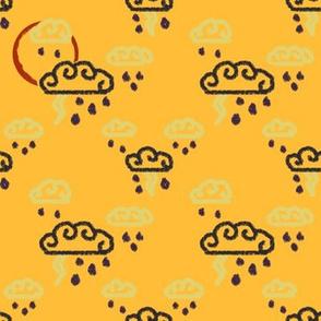 Golden Thunderstorm | Stock Pot