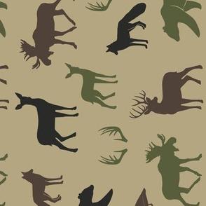 woodland animals C2(T) (90) C19BS