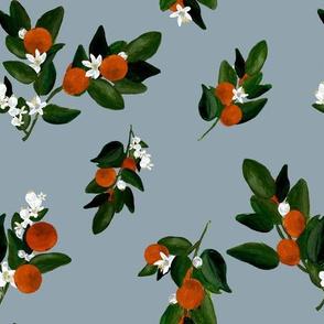 Blooms in Orange