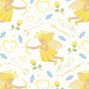 CY. Be my Valentine challenge. Little Cupid