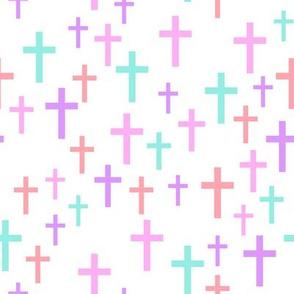 Crosses in multi colors - LAD19