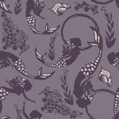 Mermaids in Plum