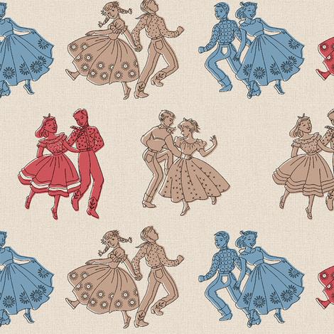 Rockin' Swing! fabric by muhlenkott on Spoonflower - custom fabric