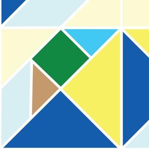 tangram nature rotation