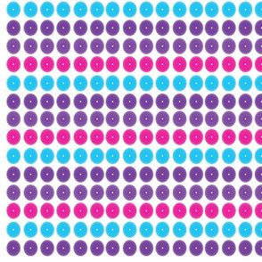 Spirals Geometric Pattern Pink Purple Blue