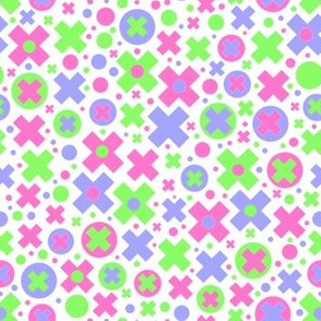 Bubble Cross//pastel