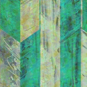 corinthian stripe verde