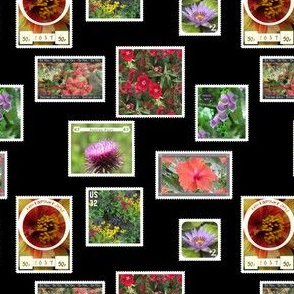 Flower Photography Postage Stamps
